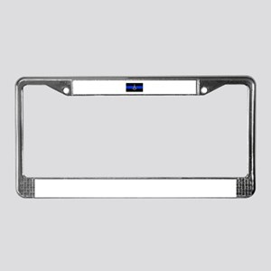 Masons Thin Blue Line License Plate Frame