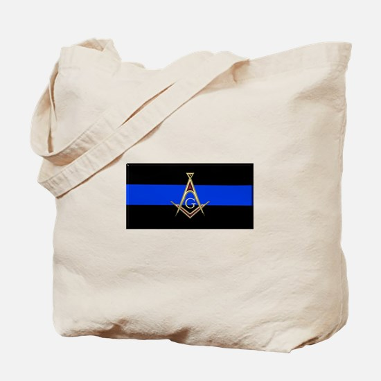 Masons Thin Blue Line Tote Bag