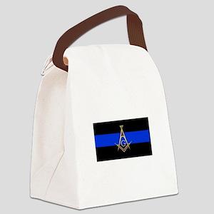Masons Thin Blue Line Canvas Lunch Bag