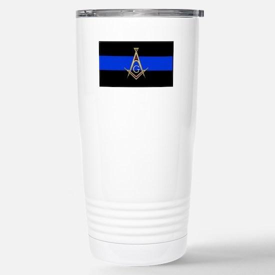 Masons Thin Blue Line Travel Mug