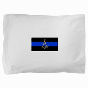 Masons Thin Blue Line Pillow Sham