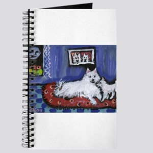 Eskie Mom n pup Design Journal