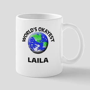 World's Okayest Laila Mugs