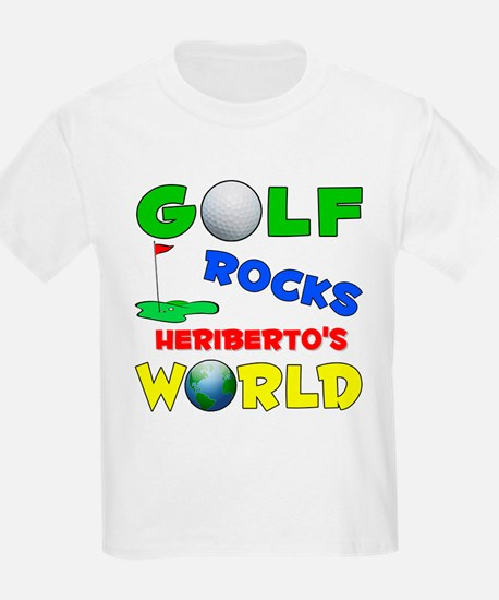 Golf Rocks Heriberto's World  T-Shirt