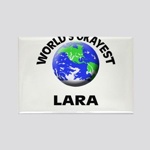 World's Okayest Lara Magnets