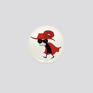 Red Death Mini Button