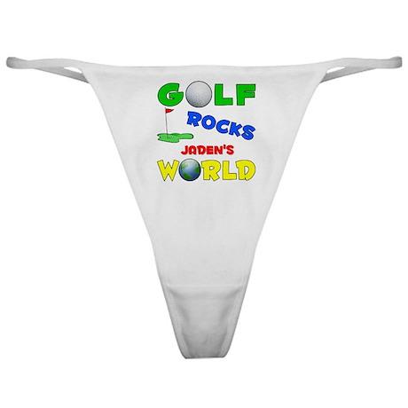 Golf Rocks Jaden's World - Classic Thong