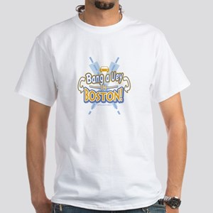 Bang a Uey Boston White T-Shirt