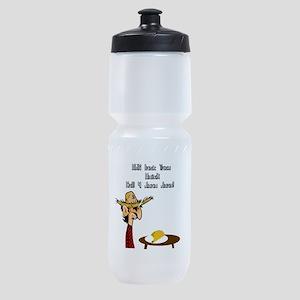 Taco Humor Sports Bottle