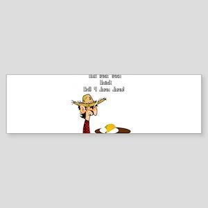 Taco Humor Bumper Sticker