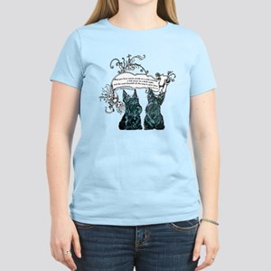 Scottish Terrier Proverb Women's Light T-Shirt