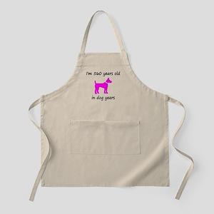 80 Dog Years Hot Pink Dog 1 Apron