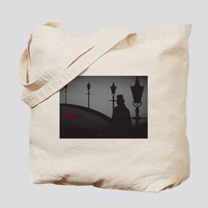 Jack The Ripper On The Street Tote Bag