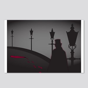Jack The Ripper On The St Postcards (Package of 8)
