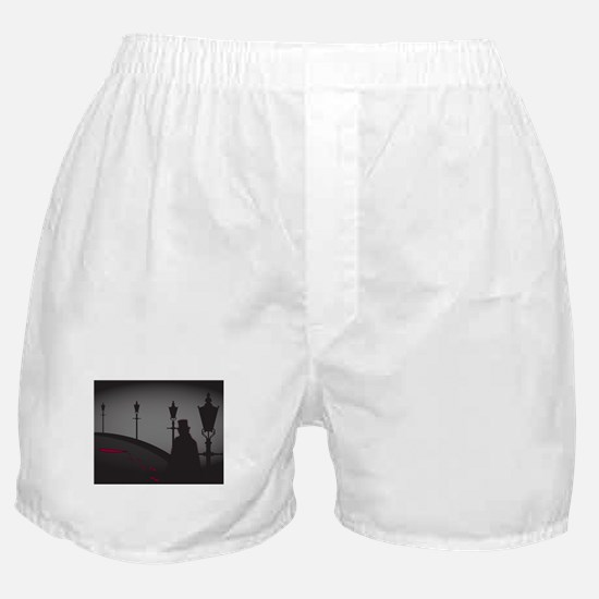 Jack The Ripper On The Street Boxer Shorts