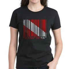 https://i3.cpcache.com/product/189647116/barcode_dive_flag_womens_dark_tshirt.jpg?side=Front&color=Black&height=240&width=240