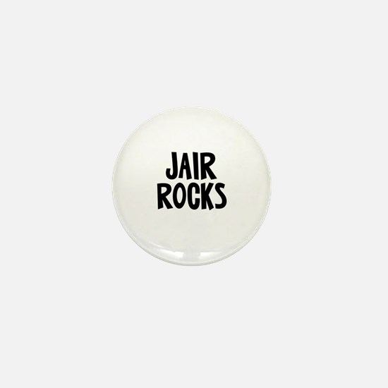 Jair Rocks Mini Button
