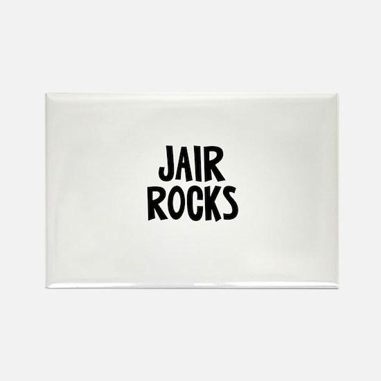 Jair Rocks Rectangle Magnet