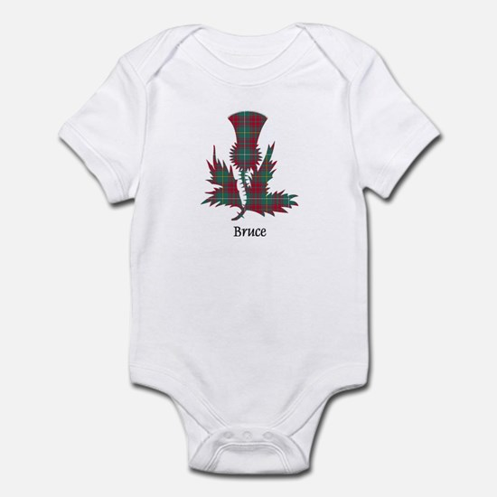 Thistle - Bruce hunting Infant Bodysuit