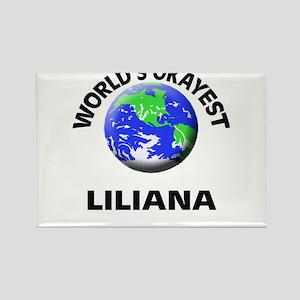 World's Okayest Liliana Magnets