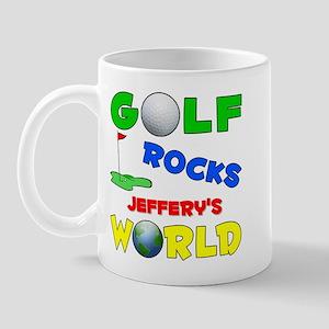 Golf Rocks Jeffery's World - Mug
