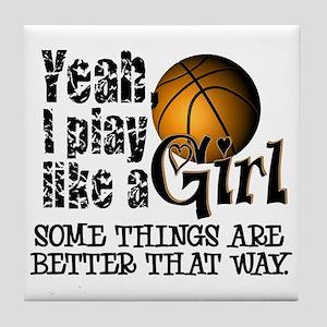 Girls Basketball Quotes Coasters - CafePress  Girls Basketbal...