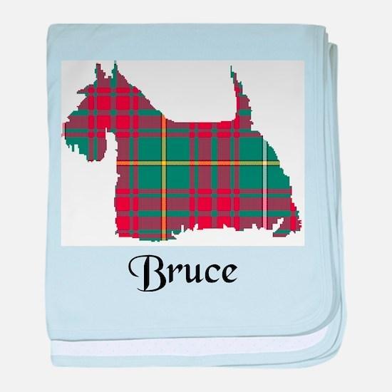 Terrier - Bruce hunting baby blanket