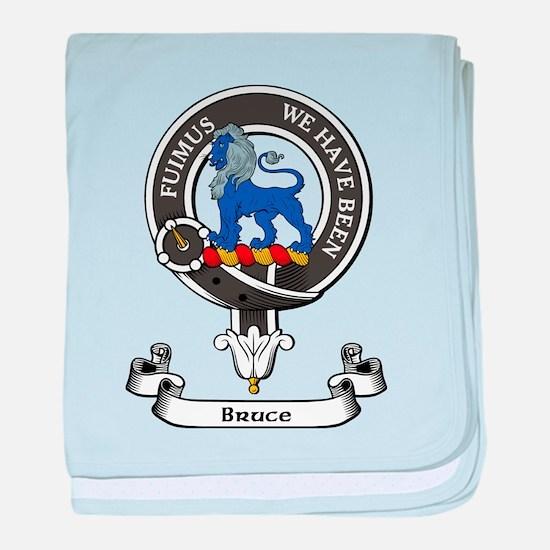 Badge - Bruce baby blanket