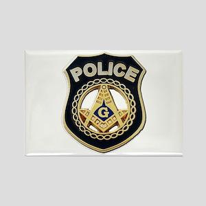 Masonic Police Magnets