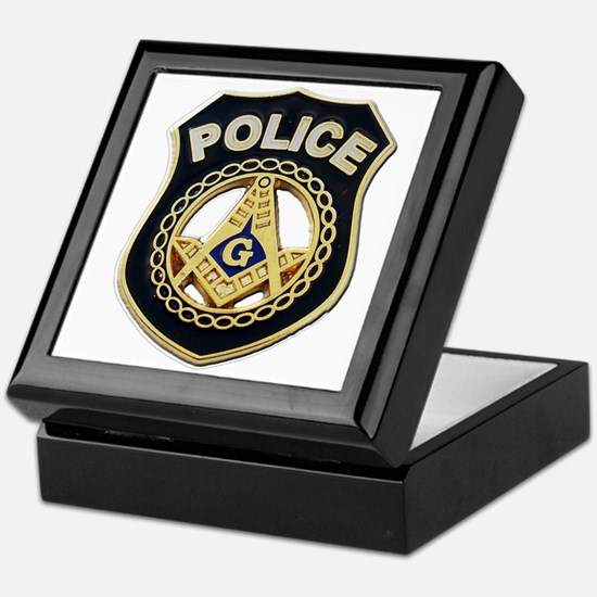 Masonic Police Keepsake Box