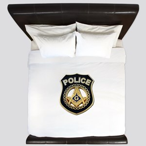 Masonic Police King Duvet