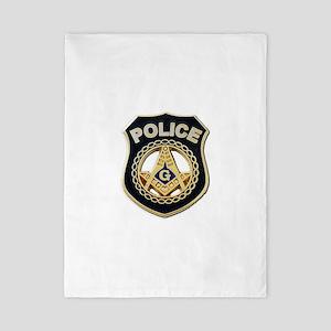 Masonic Police Twin Duvet