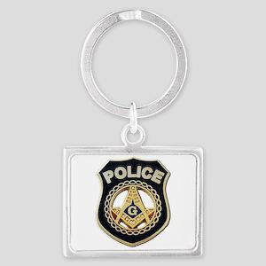 Masonic Police Keychains