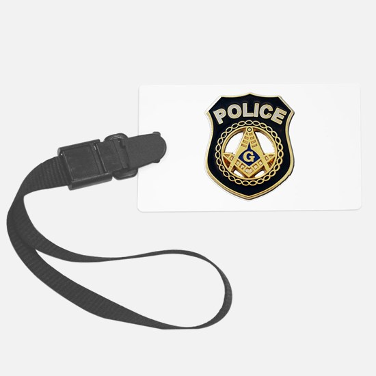 Masonic Police Luggage Tag