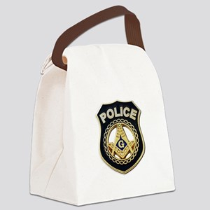 Masonic Police Canvas Lunch Bag