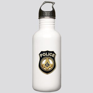 Masonic Police Water Bottle