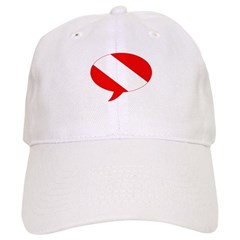 https://i3.cpcache.com/product/189653630/text_bubble_dive_flag_baseball_cap.jpg?side=Front&color=White&height=240&width=240