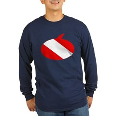 https://i3.cpcache.com/product/189653649/text_bubble_dive_flag_t.jpg?side=Front&color=Navy&height=240&width=240