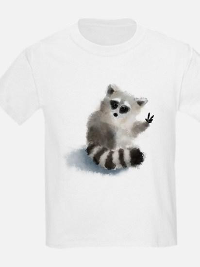 Raccoon says hello! T-Shirt