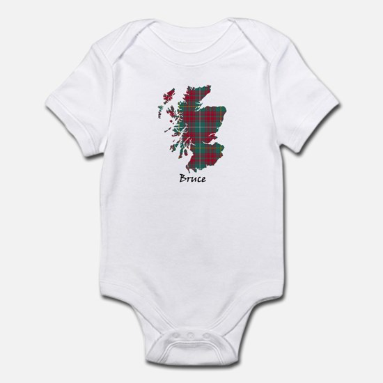 Map - Bruce hunting Infant Bodysuit