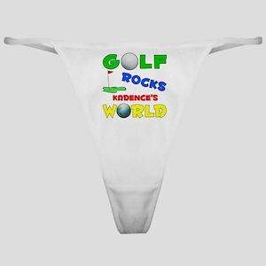 Golf Rocks Kadence's World - Classic Thong