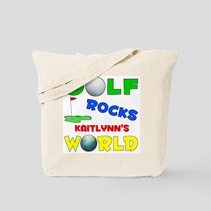 Golf Rocks Kaitlynn's World - Tote Bag
