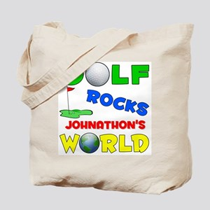 Golf Rocks Johnathon's World  Tote Bag