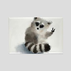 Raccoon says hello! Magnets