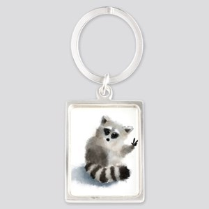 Raccoon says hello! Keychains