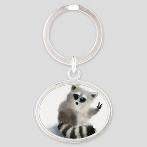 Raccoon says hello! Keychains