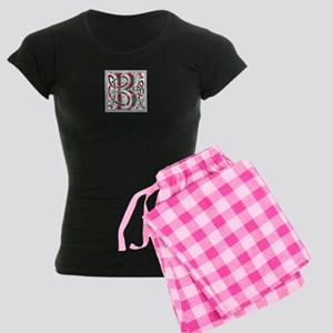 Monogram - Bruce hunting Women's Dark Pajamas