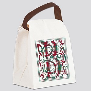 Monogram - Bruce hunting Canvas Lunch Bag