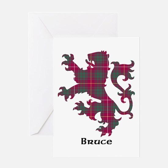 Lion - Bruce Greeting Card
