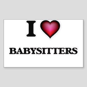 I love Babysitters Sticker